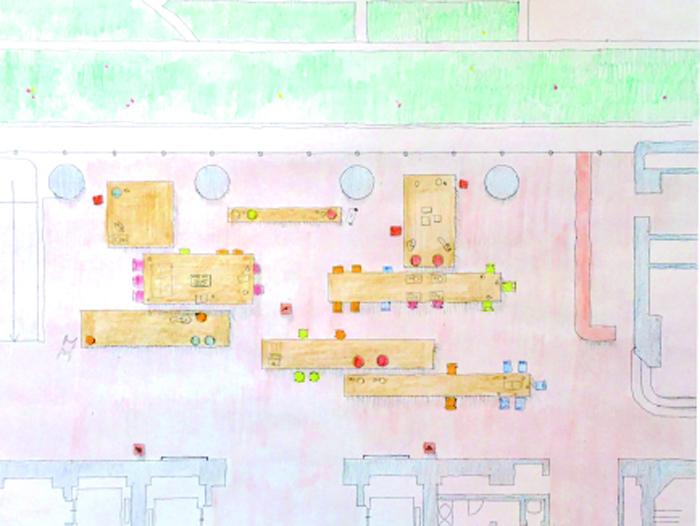 神戸市役所市民ロビー改装設計プロポーザル(次点)-2