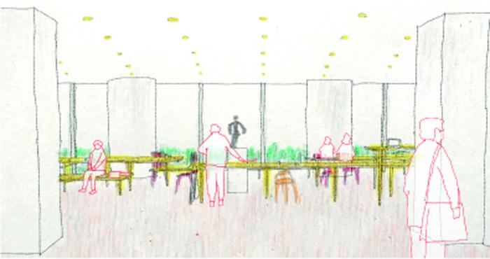 神戸市役所市民ロビー改装設計プロポーザル(次点)-5