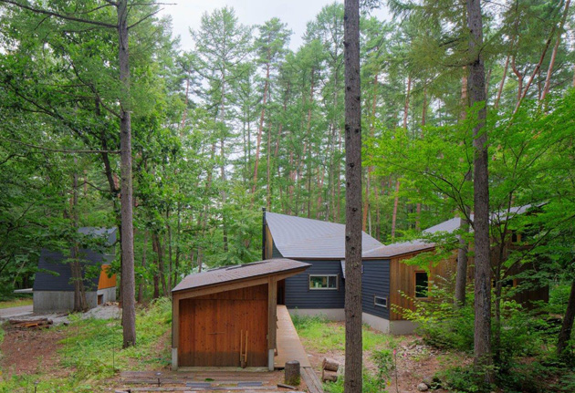 森のゲストハウス-5